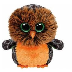 beanie boo lions pinterest | TY Beanie Boo Plush - Midnight the Owl 15cm (Halloween Exclusive ..