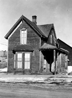 Tabor House, Leadville, Colorado Augusta's Leadville house. View of the Horace and Augusta Tabor home, at 116 East 5th (Fifth) Street, in Leadville, (Lake County), Colorado; shows a frame house with a bay window and bargeboard. 1955. Denver Public Library, Western History Collection.
