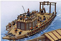 14th century ships | Seki bune. Medium-sized ship common in 14th-16th Century navies ...