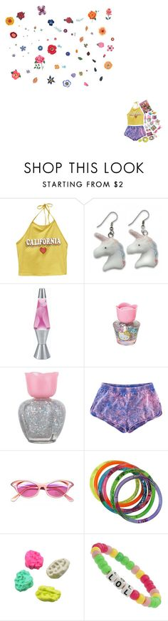 """90s teen"" by xjuliemaix ❤ liked on Polyvore featuring Wet Seal, Universal Lighting and Decor, Hello Kitty, Forever 21, H&M, INC International Concepts, Lisa Frank, Kirra, Miss Selfridge and DOMESTIC"