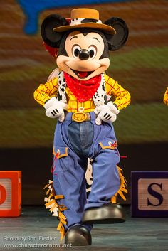Cowboy Mickey Mouse. Don't see Mickey in boots very often..