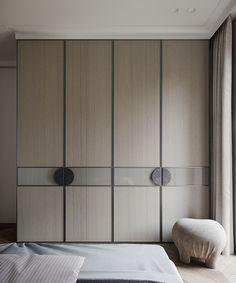 Wardrobe Interior Design, Bedroom Closet Design, Bedroom Furniture Design, Pipe Furniture, Bedroom Built In Wardrobe, Wardrobe Room, Wardrobes For Bedrooms, Wardrobe Furniture, Mirrored Wardrobe