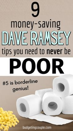 Best Money Saving Tips, Saving Money, Money Savers, Planning Budget, Frugal Tips, Frugal Living Tips, Show Me The Money, Dave Ramsey, Budgeting Money