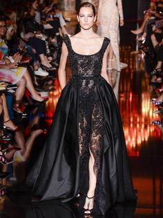 Le défilé Elie Saab Haute Couture automne-hiver 2014