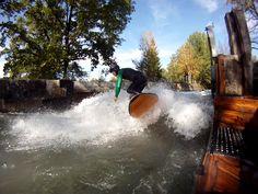 Auf die Welle gekommen - Kuchl Surfer, Aktiv, Niagara Falls, Outdoor, Nature, Travel, Sea Spray, Waves, Outdoors