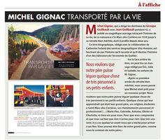 La biographie de mon client, monsieur Michel Gignac de Transport Guilbault, est en vedette dans le plus récent numéro du magazine Transport Routier! Bien fière de cette belle vitrine pour mon entreprise Services Vita Hominis!  (Transport routier, juin 2016, p. 19)