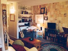 """Tradewinds 206, belonging to Halie Homan, Sarah Hau, Briana Laszlo and Michelle Tucker, was the winner of """"Best 2-Bedroom Apartment"""" in the 2012 Rate My Space contest."""