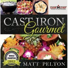 The Cast Iron Gourmet / did cover and interior page design