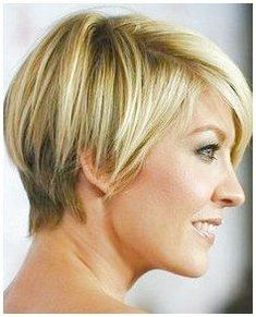 Thin hair isn't a revile. There are numerous excellent short hairstyles and haircuts for thin hair. Here are 20 new short hairstyles for fine hair! Short Hairstyles For Thick Hair, Haircuts For Fine Hair, Haircut For Thick Hair, Short Hair Cuts For Women, Short Hairstyles For Women, Diy Hairstyles, Blunt Bob Hairstyles, Bouffant Hairstyles, Ladies Hairstyles