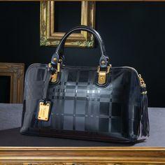 Velia Leather Handbag 25848 Stauer