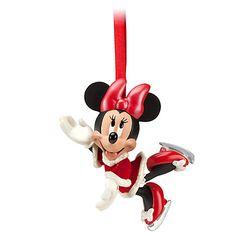 Santa Minnie Mouse Sketchbook Ornament | Ornaments | Disney Store