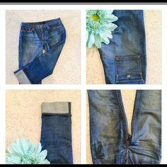 Banana Republic Size 8 Capri  Great Banana Republic Capri Size 8 never Worn just washed! Excellent condition! So cute! You will love them! ❤️❤️❤️ Banana Republic Jeans Ankle & Cropped