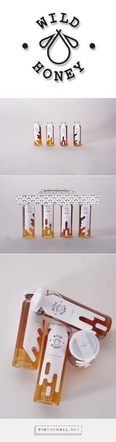 Wild Honey: Honey Packaging on Behance - created on 2016-10-07 11:00:30