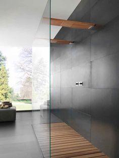 wallmounted solid wood rain shower overhead showers overhead shower rare