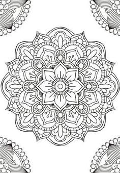 Mandala fleur simple unique doodle art doodle it. Mandalas Drawing, Mandala Coloring Pages, Dot Painting, Adult Coloring Pages, Coloring Books, Adult Colouring In, Easy Mandala Drawing, Leaf Drawing, Mandala Tattoo