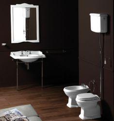 klassieke badkamer met badmengkraan op poten | Klassieke Badkamer ...