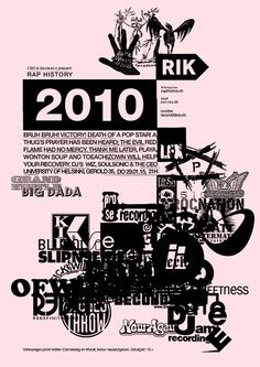 Herr Wempe a/k/a DJ Soulsonic: RAP HISTORY 2010