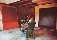 Mark Rothko's studio – East Hampton, New York