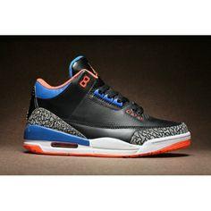 d014266131b95c air jordan 3 retro cemment black orange blue white black orange blue white  for mens clearance sale