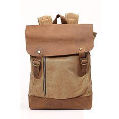 Canvas handbag backpack girls school  travel bag