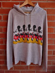 Vintage MICKEY MOUSE jumper sweater Sweatshirt tee on Etsy, £17.45