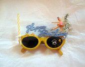 Pearls Before Swine Child's Decorated Fantasy Pig Sunglasses. $10.00, via Etsy.