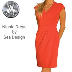 Nicole Dress by Sea Design Henri Lloyd, Uniform Dress, Helly Hansen, Sperrys, Dresses For Work, Sea, Lady, How To Wear, Design