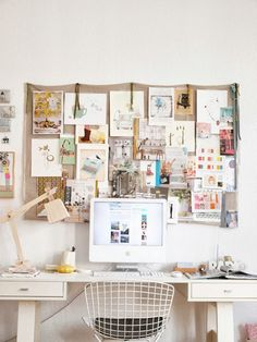 Home Office // Desk // Apartment // Interior Design // Home design ideas decorating before and after room design decorating Home Office Inspiration, Workspace Inspiration, Inspiration Boards, Desk Inspo, Moodboard Inspiration, Life Inspiration, Art Inspo, Fashion Inspiration, Home Office Design