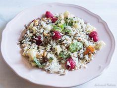 Ensalada de arroz salvaje muy saludable. http://lacocinadetendencias.com/ensalada-de-arroz-salvaje/