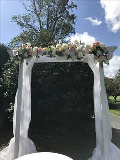 White Wedding Arch - DIY Rentals Terre Haute