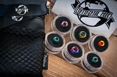 Black Silok pouch V1.5 + Drip tips by Continental mods.