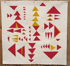https://flic.kr/p/qnkpx6 | The Power of Three | Accepted into QuiltCon 2015!  This quilt was made in response to a call for quilts for Sherri Lynn Wood for her upcoming book, The Improv Handbook for Modern Quilters.  Look for it on pre-order at Amazon.  This quilt is not in it, but there are lots of other great ones!