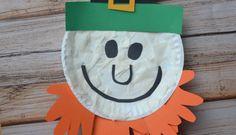 Paper Plate Leprechaun {Kid Craft}