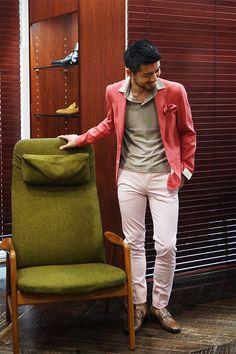 Mens Fashion 2018, Men's Fashion, Red Blazer, Web Magazine, Man Style, Mall, Asia, Suit Jacket, Menswear