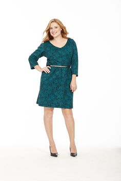 V-Neck Dress In Peacock Roses by  @melissmelissamasse  Available in sizes L-XL and 1X-4X