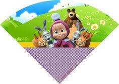 Masha e o urso – Personalizados gratuitos – Inspire sua Festa ®
