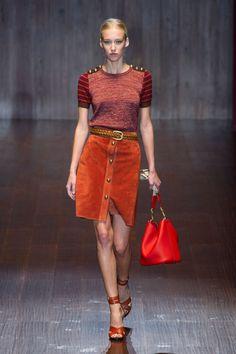 Défilé Gucci, prêt-à-porter printemps-été 2015, Milan. #MFW #Fashionweek #runway