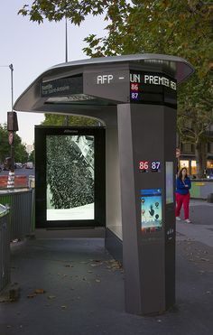 Urban Furniture, Street Furniture, Bus Stop Design, Bus Stand, Bus Shelters, Bus Station, Smart City, Digital Signage, Vending Machine