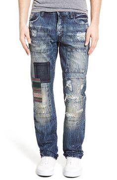 PRPS 'Barracuda' Straight Leg Jeans (Tabby)