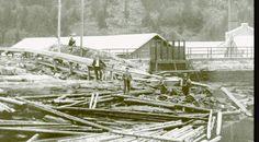 Bilderesultat for tømmerfløting norge
