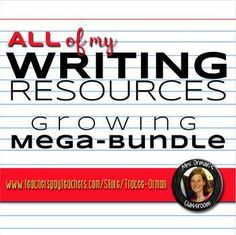 WRITING resources growing bundle: includes essay writing, creative writing, research skills, and journalism. Persuasive Essay Topics, Argumentative Writing, Narrative Writing, Writing Prompts, Research Writing, Research Skills, Common Core Writing, Writing Pictures, Help Teaching