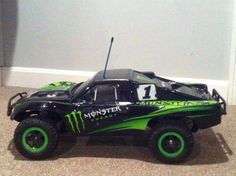 Traxxas Limited Edition Monster Energy Slash 2WD