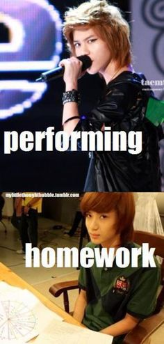 Lol. I understand your pain Taemin.... ♡ #KPOP #FUNNY