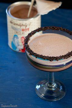 Frozen Hot Chocolate Margarita. Tequila? Chocolate? Shut the front door. I am in…are you? Cheers:)