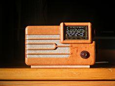 Streamline miniature radio. @designerwallace