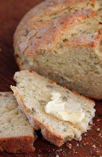 Irish Potato Bread (no yeast). Add shredded cheese to make it cheesy... hmm, that sounds profound.