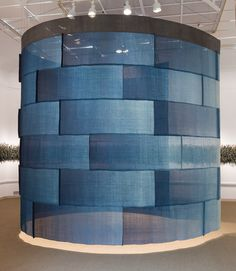 Installations & Exhibitions | :: Rowland & Chinami Ricketts | Mood Indigo, Seattle Asian Art Museum,  Apr - Oct 2016.