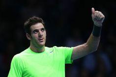 Juan Martin Del Potro Photo - ATP World Tour Finals - Day Four