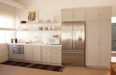 Portfolios - Dering Hall - Cabinet over and next to fridge