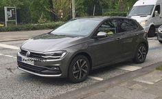 volkswagen-polo-2018-flagra-novo-2 Volkswagen Polo 2018 é flagrado e começa a ser produzido em junho